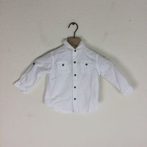 Janie and Jack Button Up Shirt 18-24 Months